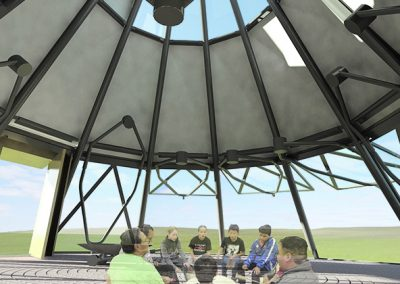 standing rock outdoor classroom